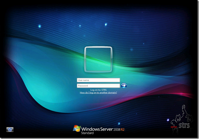 Gorgeous Windows 7 logon screen