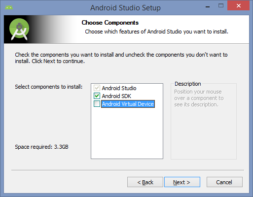 Installing an Android Emulator on Windows with Google Play